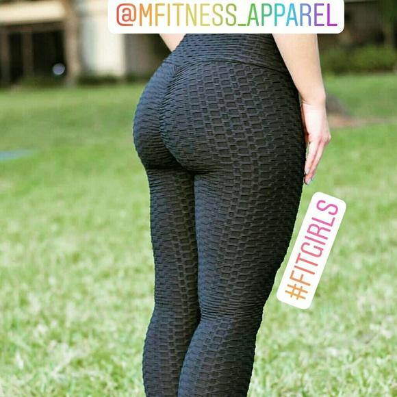 c83970e7a86e4f Brazilian scrunch booty textured leggings. M_5bf3003da5d7c60835d27e2d
